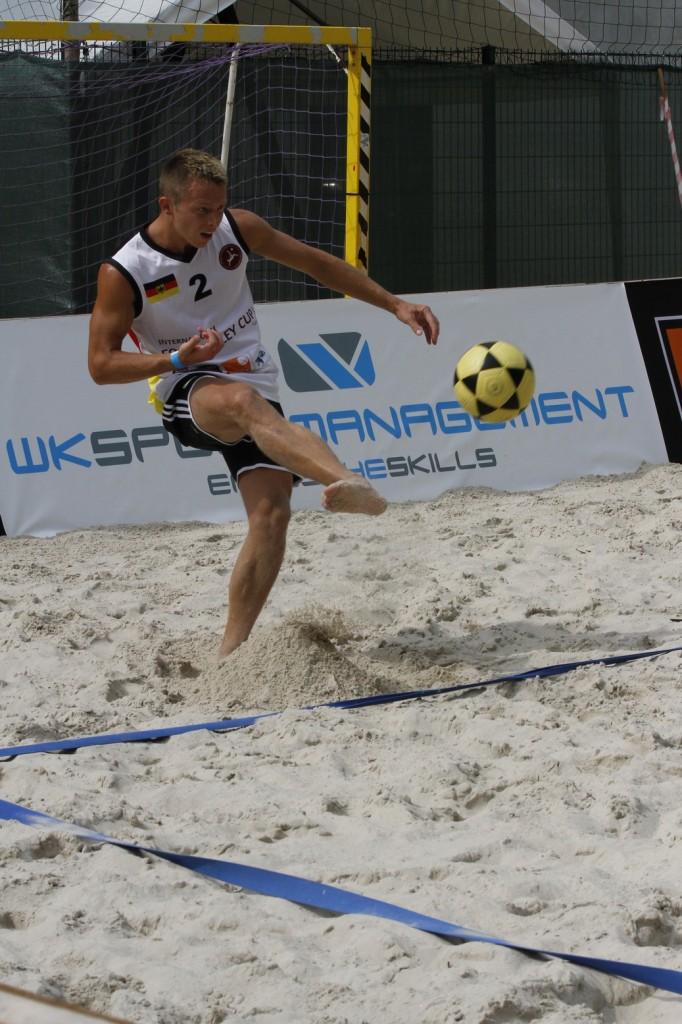 Jakob Domke - International Footvolley Cup   Cologne  27. - 28. August 2013