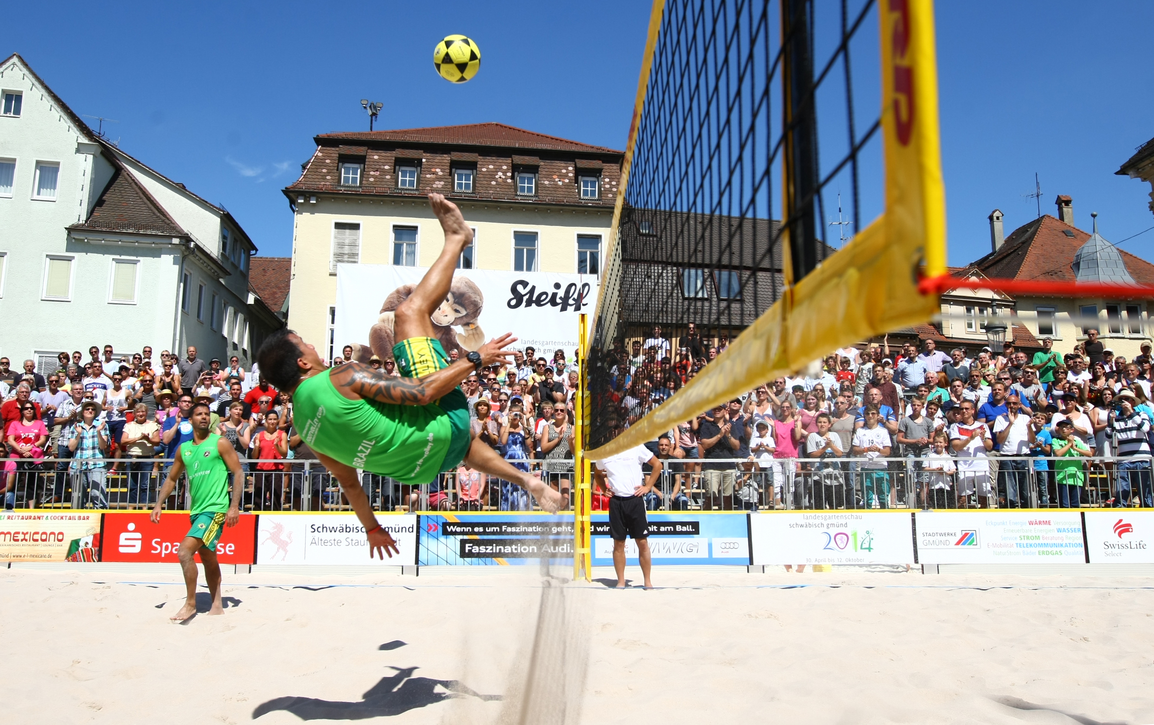 Footvolley A3 Panorama 4sp