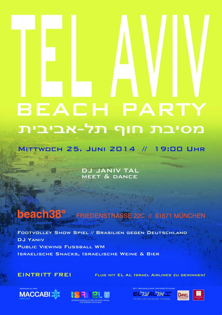 telaviv beach party