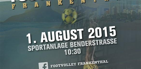 Flyer International Footvolley Cup 2014 in Schwäbisch Gmünd