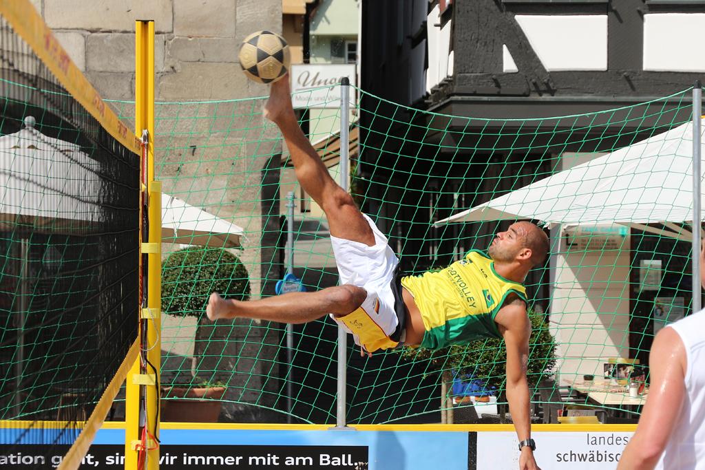 Footvolley wird in Schwäbisch Gmünd heimisch
