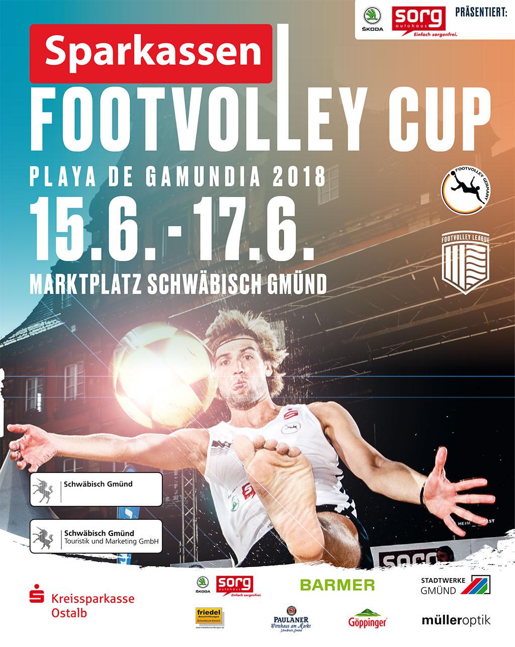 Playa de Gamundia 2018 – Sparkassen Footvolley Cup