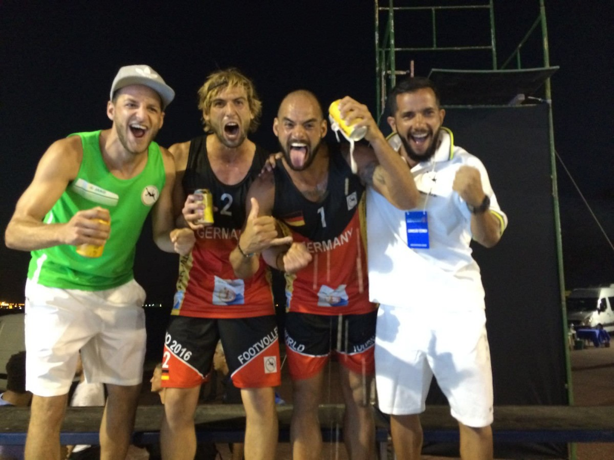 Footvolley-WM in Rio 2016