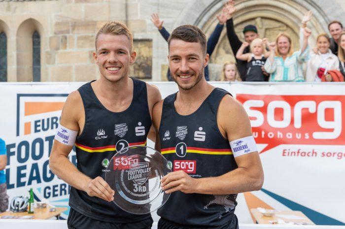 Footvolley Deutschland unter den Top 3 in Europa